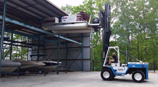 Seneca, Carolina del Sud: Forklift