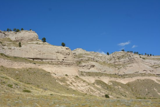Gering, NE: Scotts Bluff National Monument