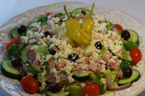 Riverview, Flórida: Greek salad