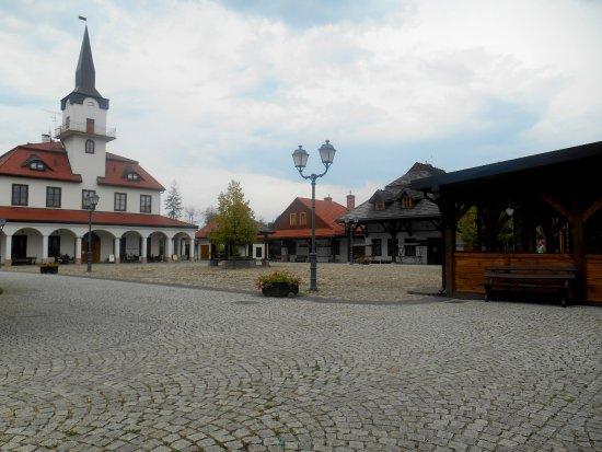 Nowy Sacz, Polen: miasteczko galicyjskie