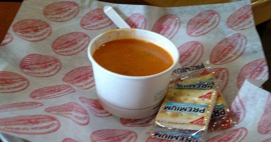 มิสซูลา, มอนแทนา: Sept 2016 - Tomato soup