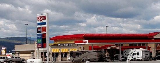 Missoula, MT: Sept 2016 - Street view @ Town Pump / Flying J