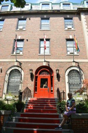 Chicago Getaway Hostel: Fachada del Hostal