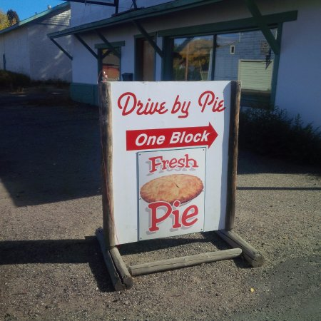 Granby, CO: Sign from the side street