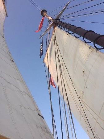 Camden, ME: Sails up on Schooner Surprise