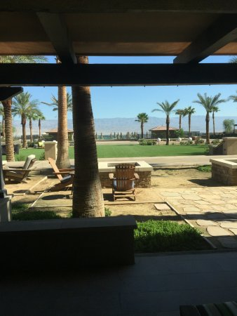 Rancho Mirage, Californien: view from my room