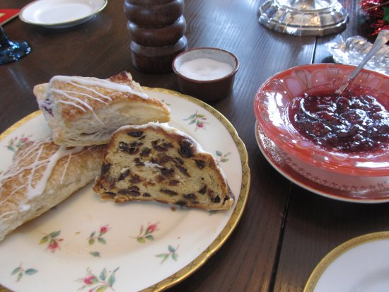 Mayville, WI: Fresh Danish from a local bakery and Stack's jams locally made