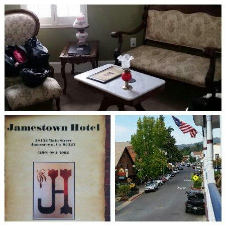 Jamestown, CA: great gold rush hotel