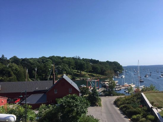 Rockport, เมน: View from Nina June patio