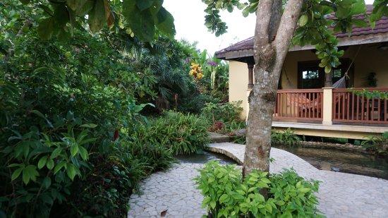 Belmopan, Belize: View of a casita