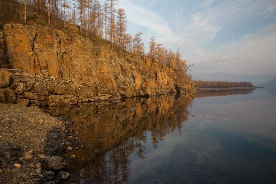 Плато Путорана, озеро Лама, Плачущие скалы