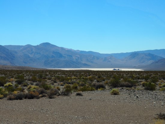 The Racetrack: Racetrack Playa and Great Stand