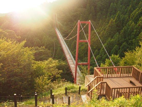 Tsubame, Japón: 千眼堂吊り橋ですが通れませんでした