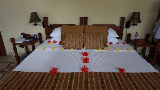 Belmopan, Belize: River House bed
