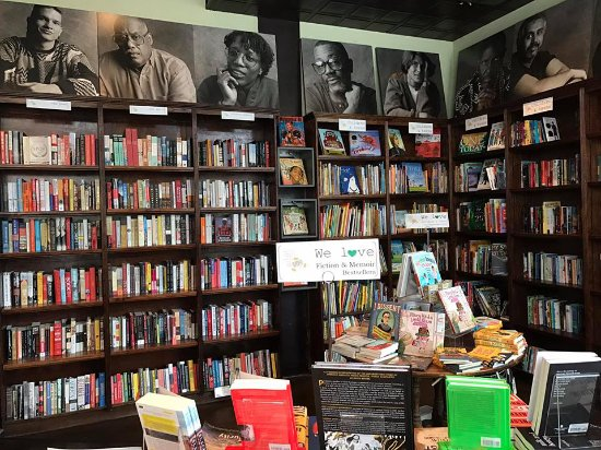 Busboys and Poets: Bookstore Inside