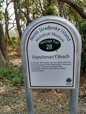 Νησί North Stradbroke, Αυστραλία: Frenchman's Beach