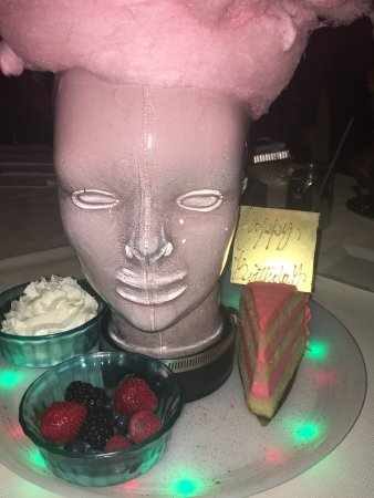 barton g the restaurant marie antoinette cotton candy head yummy
