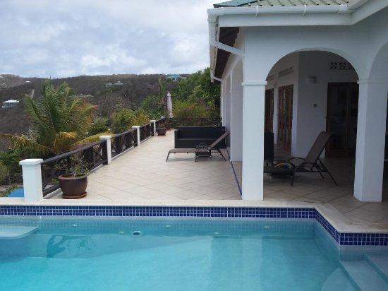 Spring Bay, Bequia: Tamarind sun deck