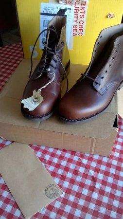 Galashiels, UK: Jarrow Marcher Boot