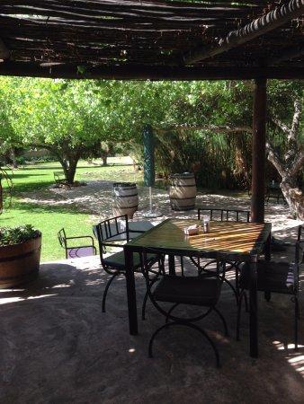 Klapmuts, جنوب أفريقيا: Lovely gardens and ponds