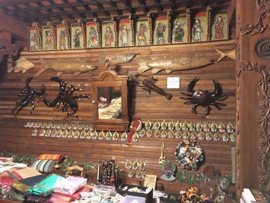 Handicrafts In Souvenir Shop Picture Of Kerala Folklore Museum