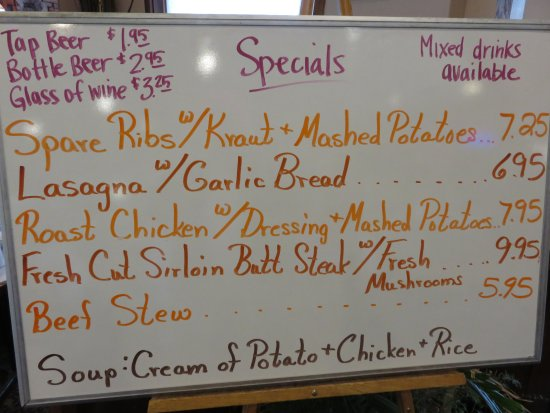 Manitowoc, WI : Tuesday specials