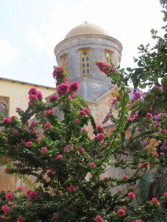 Akrotiri, اليونان: Courtyard