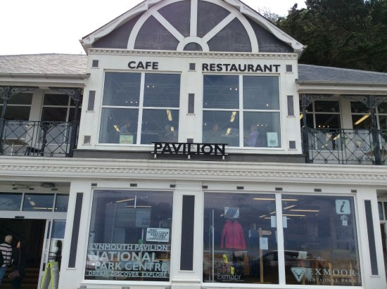 Lynmouth, UK: Good place to eat