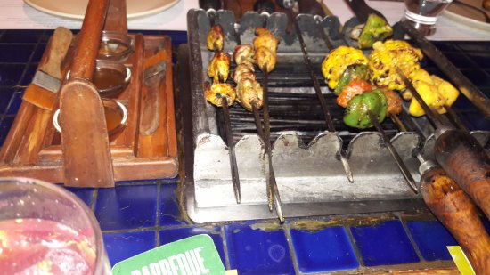 Barbeque Nation: Variety of starterters & seasoning