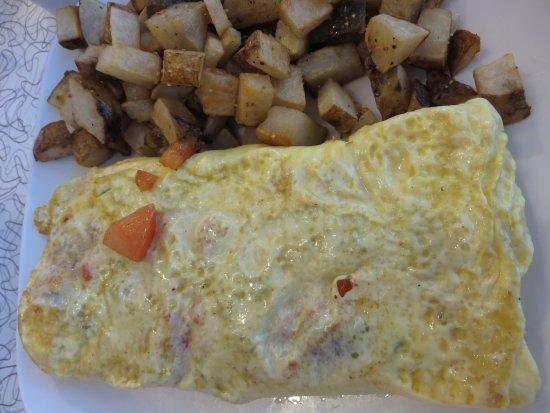Port Orange, FL: Western omelet with home fries