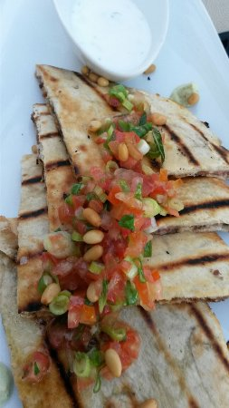 Cardo Restaurant: Arayes Tochka- stuffed pita