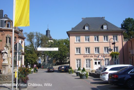 Foto de Hotel-Restaurant du Vieux Chateau