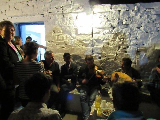 Sifnos, Grecia: Musicisti