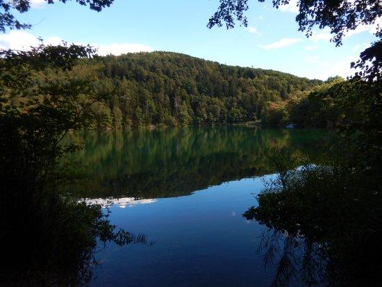 Appiano sulla Strada del Vino, Italia: Kleiner Montiggler See