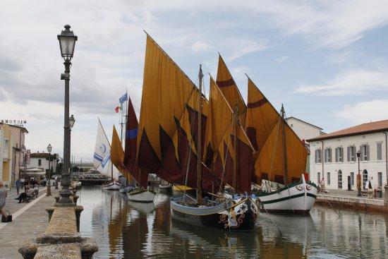 Cesenatico, Italia: Museumsschiffe