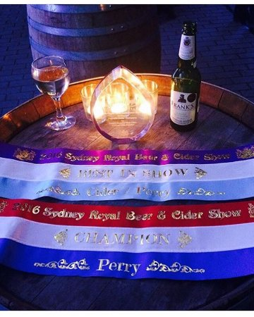 Franklin, Australia: Frank's Summer Pear Cider (Perry) wins Best in Show at the Sydney Beer and Cider Show 😃👍🏽🍎