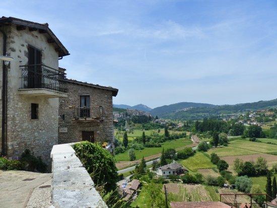 Panorama dal Borgo Medioevale di Arrone