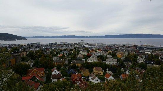 Trondheim Municipality, Norge: Utkikkskiosk Kuhaugen