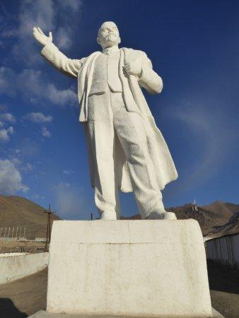 Murghab, Tajikistan: レーニン像