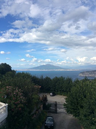 Hotel Iaccarino: From balcony room 11