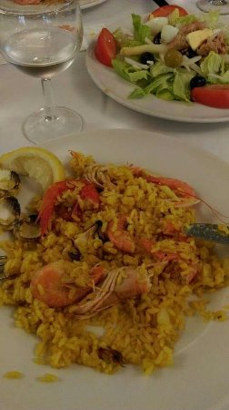 The best paella you can have in Tarazona.