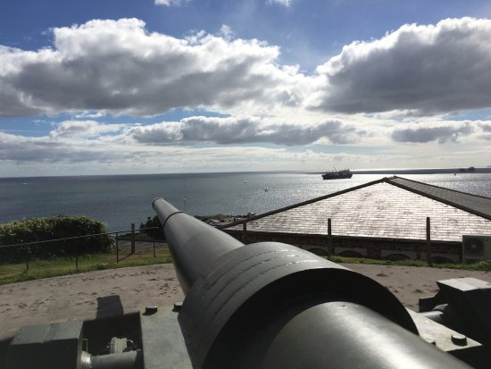 Falmouth, UK: View from castle