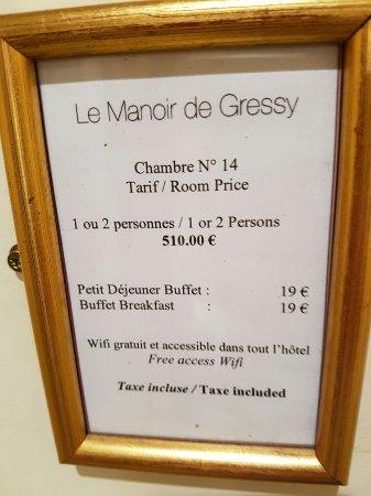 Le Manoir De Gressy