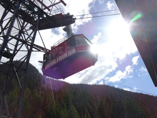 North Vancouver, Kanada: De gondel