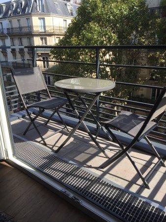 Clichy, Frankreich: Balcony