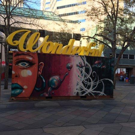 16th Street Mall: Art Display