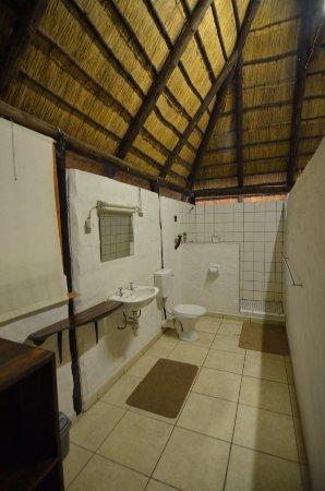 Katima Mulilo, ناميبيا: Baño