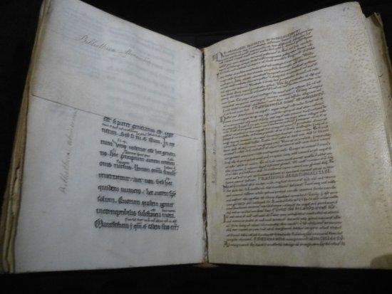 Avranches, Frankrike: Copie d'Aristote XIIè-XIIIè siècles