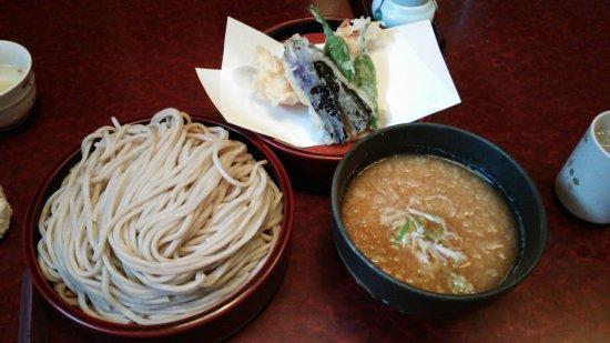 Echizen, Japón: おろし テンプラ蕎麦