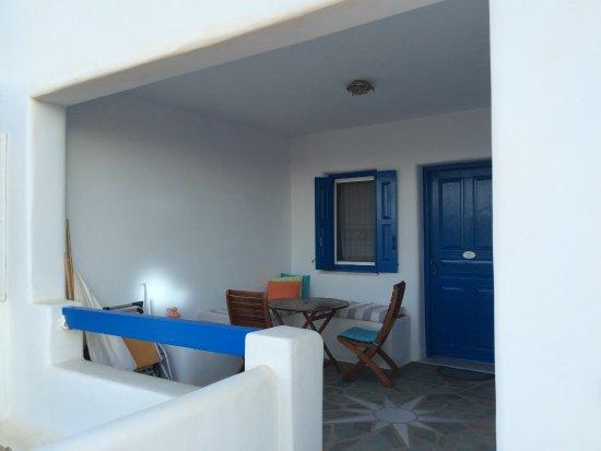 Agios Georgios, Griekenland: notre terrasse privée